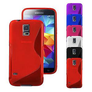 S-Line-Huelle-fuer-Samsung-Galaxy-Schutzhuelle-Handy-Tasche-TPU-Silikon-Case-Cover