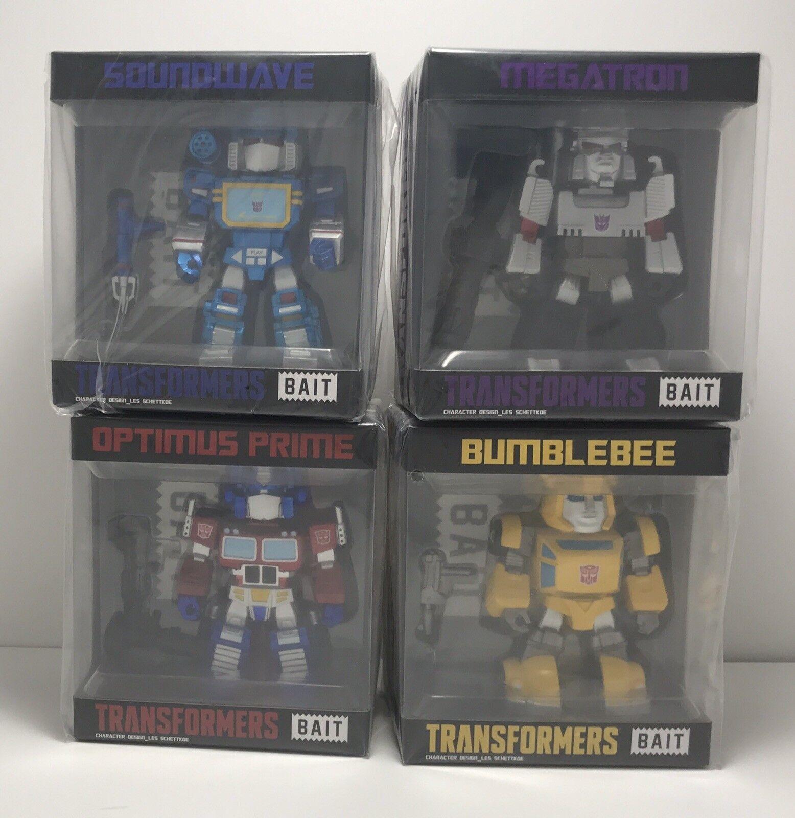 BAIT Transformers figures Optimus Bumble Bee Megatron Soundwave SDCC 2018 - NEW