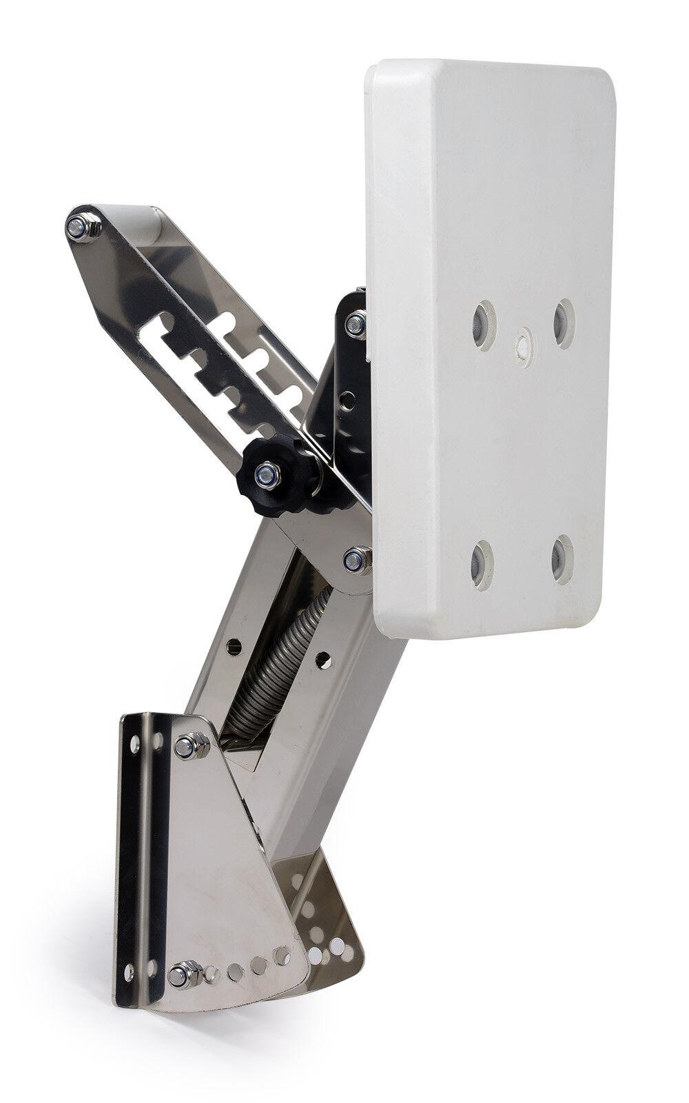Außenborder-Halterung PS Motor 7 PS Außenborder-Halterung 5 Positionen verstellbar Edelstahl Kunststoff 6d63bf