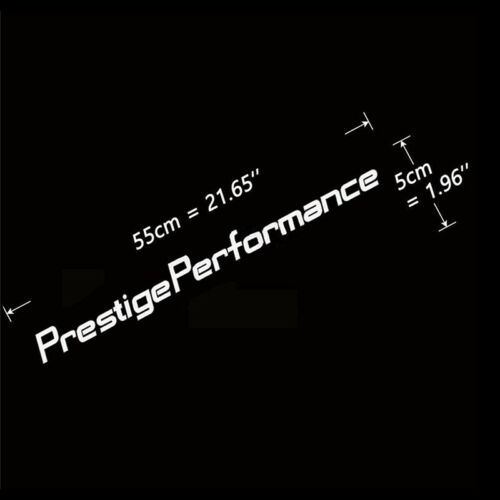 Prestige Performance Graphic Front Windshield Decal Vinyl Car Sport Stic HH
