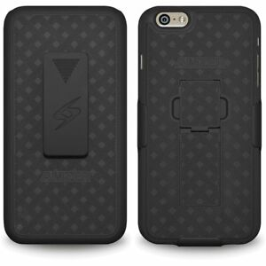 Shell-Holster-Belt-Clip-Combo-Cover-For-Apple-iPhone-6S-Plus-With-Kickstand-Case