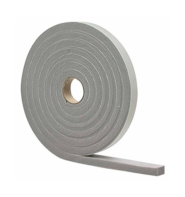 """2 Roll New MD Foam Window Seal 1//2/"""" x 3//4/"""" x 10/' for X-large Gaps  Free Shipping"""