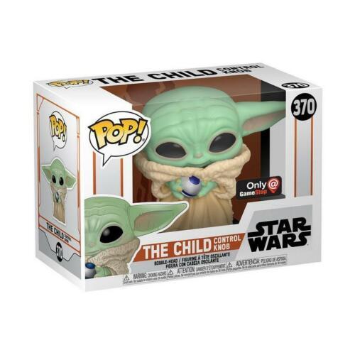 Star Wars Baby Yoda The Child w//Control Knob Gamestop Excl Funko Pop *IN STOCK