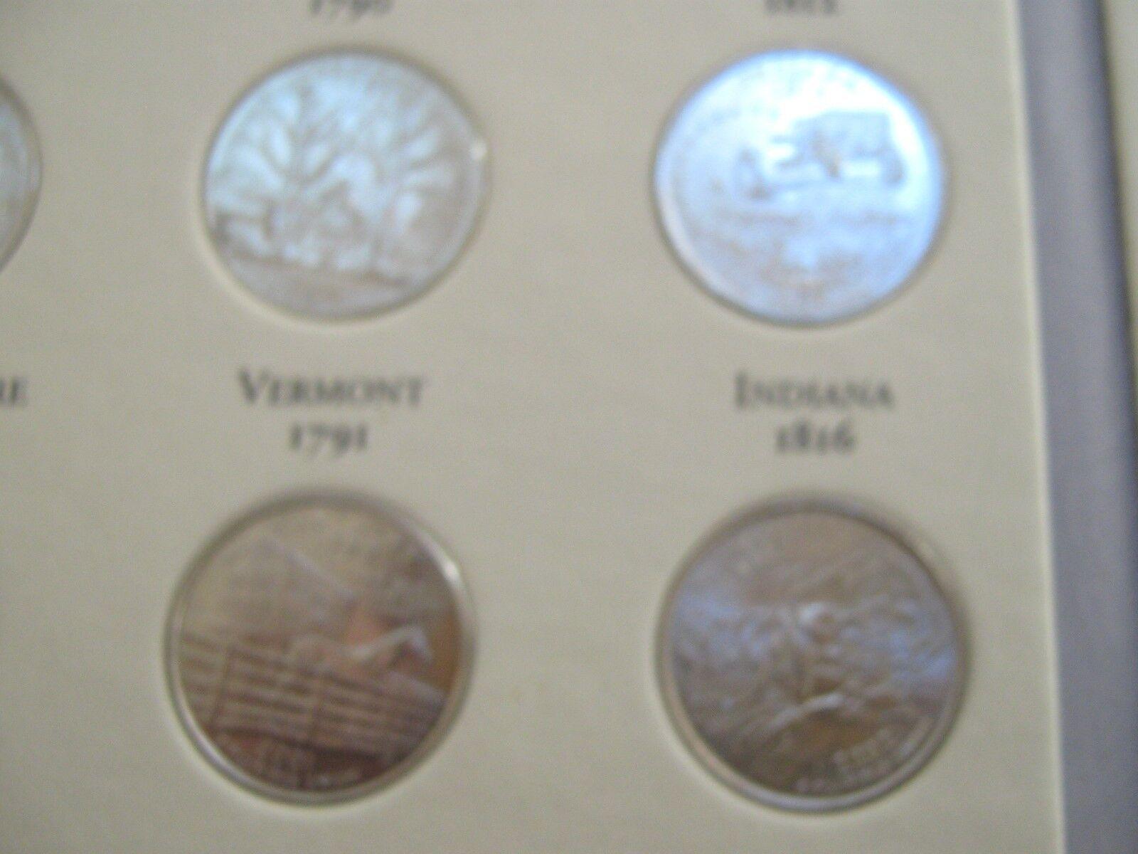 Fifty State Quarters ,1999-2008 , D.C. & U.S. Territori