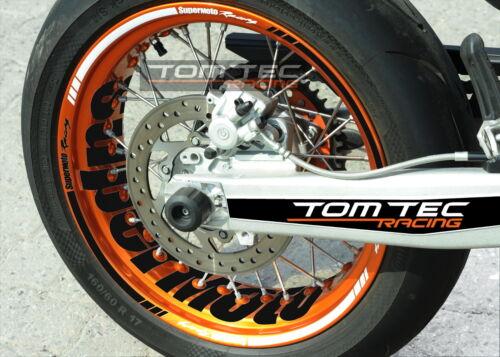 KTM Smc-R 690 Adesivo Cerchio Adesivi Adesivo Arredamento Supermoto Smc