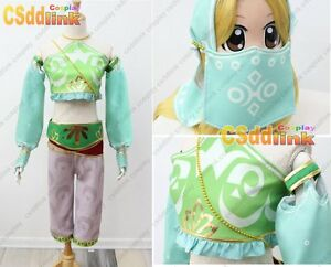 Details about The Legend of Zelda Breath of the Wild Gerudo Cosplay Costume  with headband