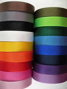 38 10mm width Nylon webbing fabric supplies multi-colors 3 7 15 20 Yard lots DIY 3 7 15 20 yard Free shipping