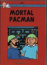 Tintin. Mortal Pacman. Pastiche signé LP.. Tirage broché 28 pages.
