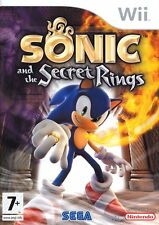 Sonic and the Secret Rings Wii Nintendo jeu jeux game games lot spelletjes 1518