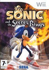 Sonic and the Secret Rings Wii Nintendo jeu jeux game games lot spelletjes 1518