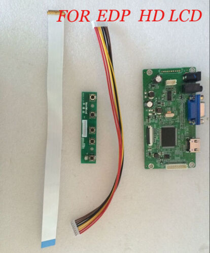 "HDMI VGA LCD LED EDP Controller Board Kit 30pin for 11.6/""  NT116WHM-N21 1366X768"
