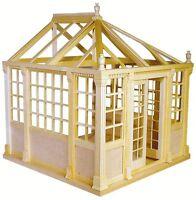 Dollhouse Kit - Houseworks Unfinished Conservatory Kit