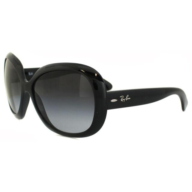 df98e4ad4996d Rayban Gafas para el Sol Jackie Ohh II 4098 Negras Grises Degradadas 601 8g