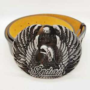Flying-Golden-Eagle-Cintura-Fibbia-Cowboy-Western-Indian-American-Navajo-Peltro