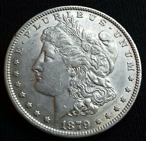 U-S-A-Silver-Morgan-Dollar-1879-O-New-Orleans