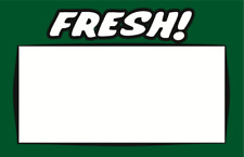 Fresh Display Sale Price Signs 7 X 55 50 Lot