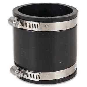"Flexible Muffe 75 mm (2½"") 75-67 mm - Gummimuffe Flexmuffe Fitting Teich Pool"