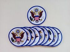 "10 The United States of America Seal Embroidered Patches 3.5"" Diameter"