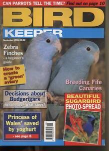Bird Keeper Magazine -  September 1996