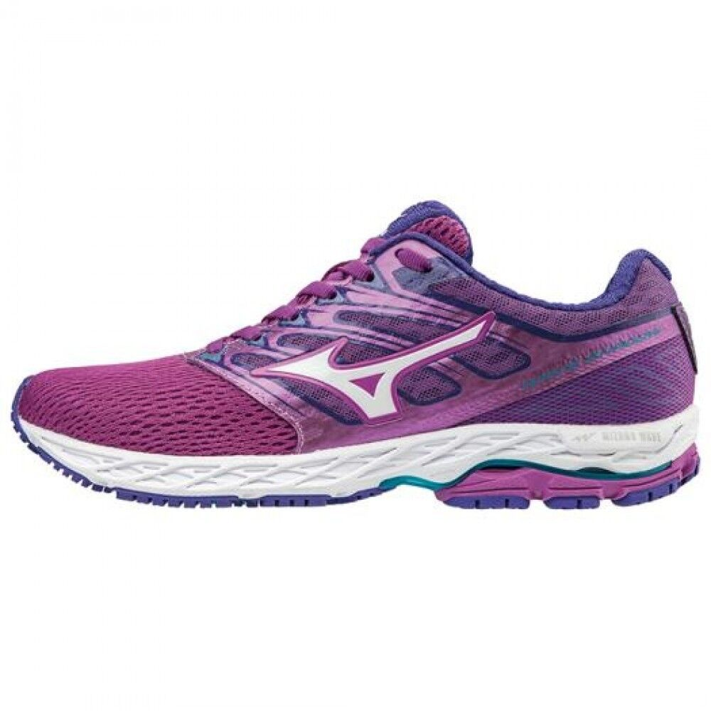 MIZUNO Women Running shoes WAVE SHADOW J1GD1730 Purple × white × bluee F S
