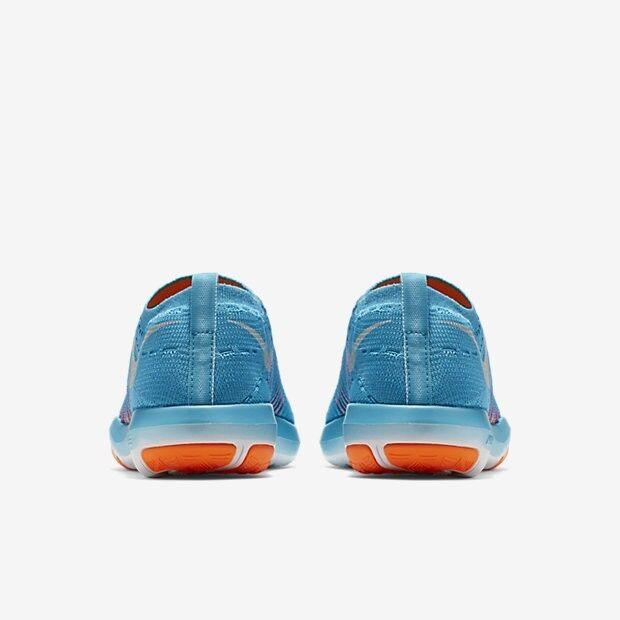 Nike Free Flyknit Zapatos de entrenamiento para mujer de transformación, 11 Gamma 833410-400 Azul/Naranja 11 transformación, 3359b4
