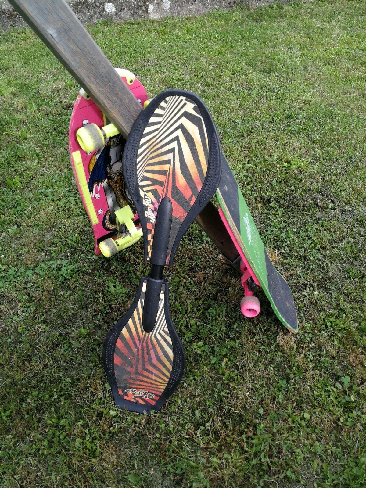 Waveboard und zwei zwei zwei skateboard gebraucht    Ausgezeichneter Wert  0cdab9