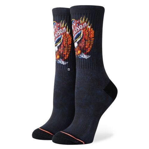 Stance NEW Harley Davidson Night Eagle Women/'s Socks Black BNWT