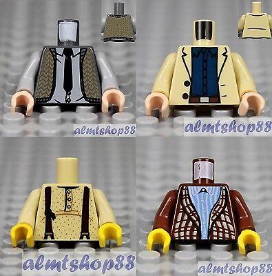 Jacket Body Parts City Town Castle #28c 4x Minifigure Torsos Female Lot LEGO