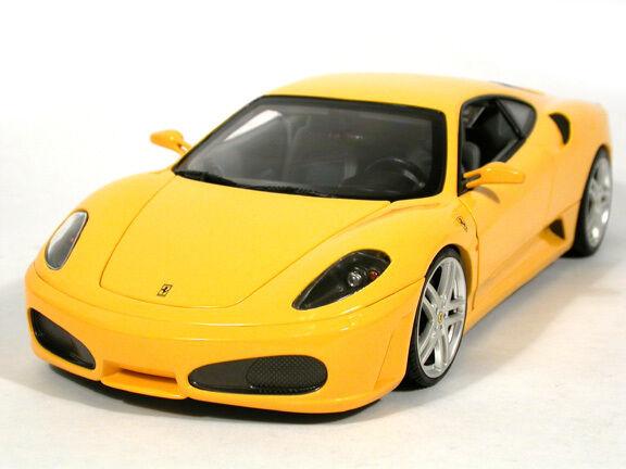 Ferrari F430 COUPE Amarillo por Hot Wheels escaparate Edition 1 18 escala NUEVO