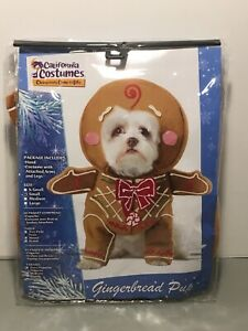 Dog-Gingerbread-Costume-Size-Small-California-Costumes