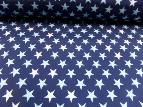 """NOUVEAU étoiles PE Multicolore Robes tissu /""""Softshell/"""" 145 cm br"""
