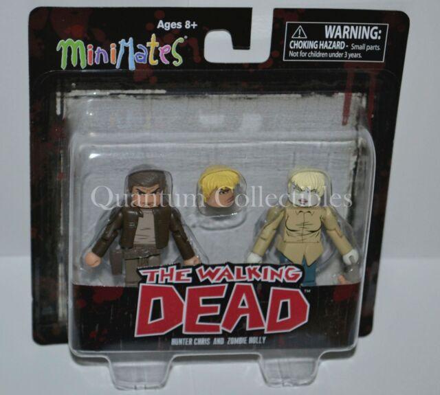 Negan Jesus Dwight Rick 4 2Packs:8 Figures The Walking Dead Minimates Series 7