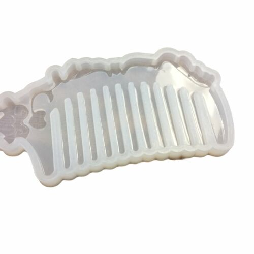 Hair Comb Silicone Mold for Epoxy Resin Crafts