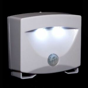 LED Motion Activated Sensor Light Outdoor Indoor Security Cordless Night Lamp