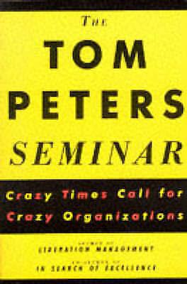 """AS NEW"" The Tom Peters Seminar, Peters, Tom, Book"