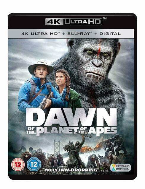 Dawn Of Planet Of The Apes 2014 4k Uhd B 5039036081184 For Sale Online Ebay