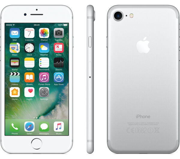 Apple iPhone 7 32GB ITALIA Bianco Silver Retina LTE NUOVO Smartphone Originale