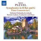 Ignace Joseph Pleyel - Ignaz Pleyel: Symphonies; Flute Concerto (2012)