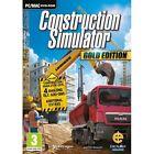 Construction Simulator Gold (pc Dvd) UNPLAYED
