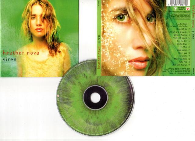 "HEATHER NOVA ""Siren"" (CD) 1998"