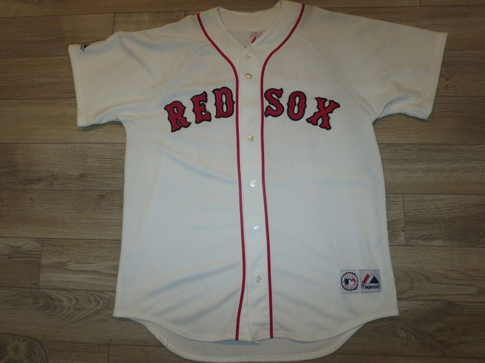 Jacoby Ellsbury  46 46 46 Boston rot Sox MLB Majestic Genäht Trikot L L  | Sale Online Shop