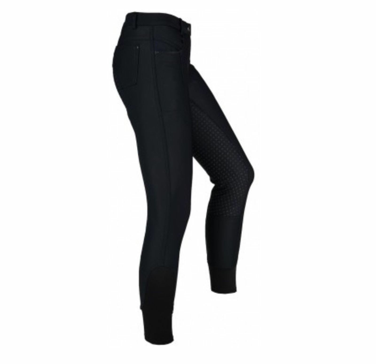 Horka Shania Damas Equitación Ecuestre Pantalones De Montar De Silicona repelente al agua