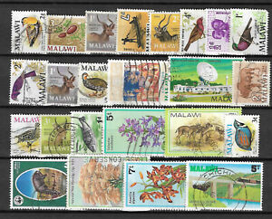 MALAWI-STAMP-COLLECTION-PACKET-24-DIFFERENT-Used-NICE-SELECTION
