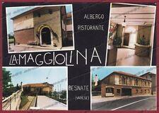 VARESE BESNATE 02 ALBERGO RISTORANTE - VEDUTINE Cartolina