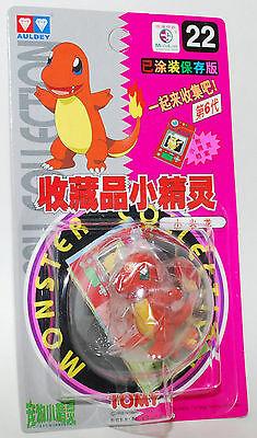 Pokemon Auldey Tomy Mni Pocket Figure Monster 1998 Vinatge rare #22 CHARMANDER