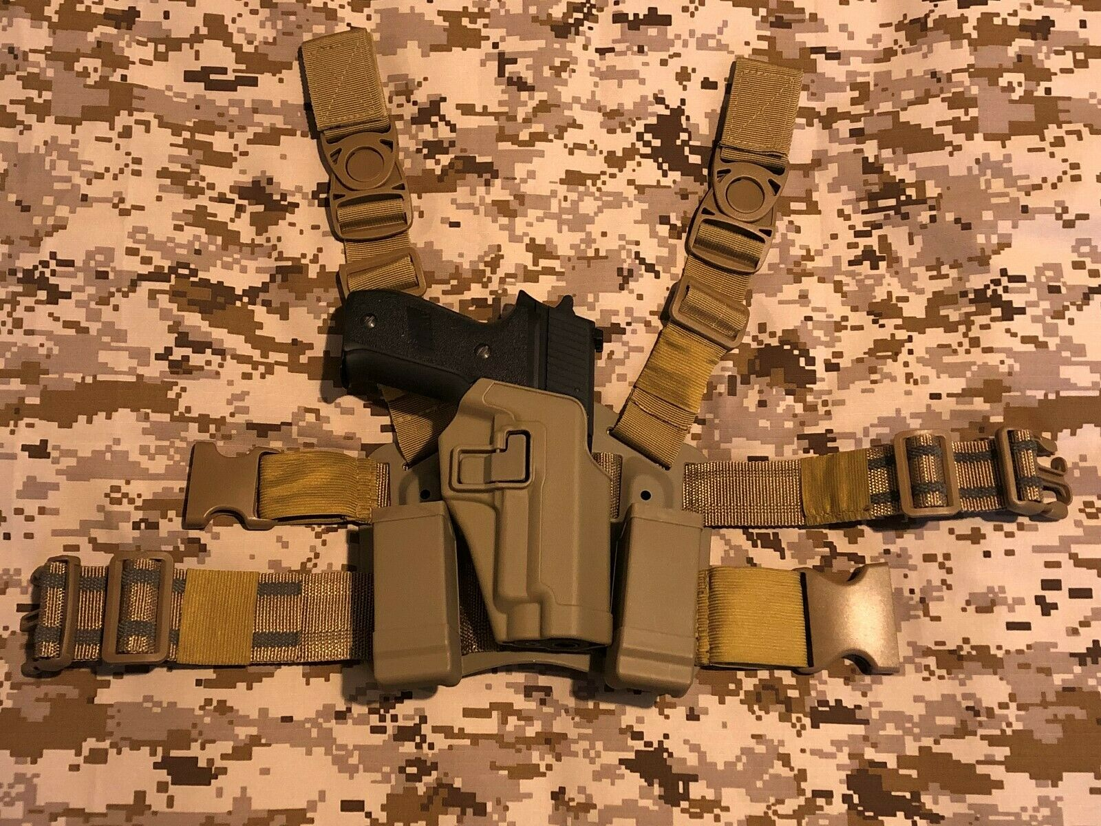 Sig Sauer 226 229 Brieftasche Kojote tan Airsoft serpa Holster