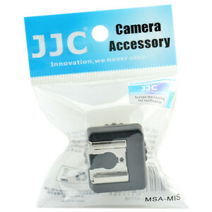 7dce3d1b3cef JJC MSA-MIS Sony Multi Interface Shoe MIS to Universal Shoe Adapter ...