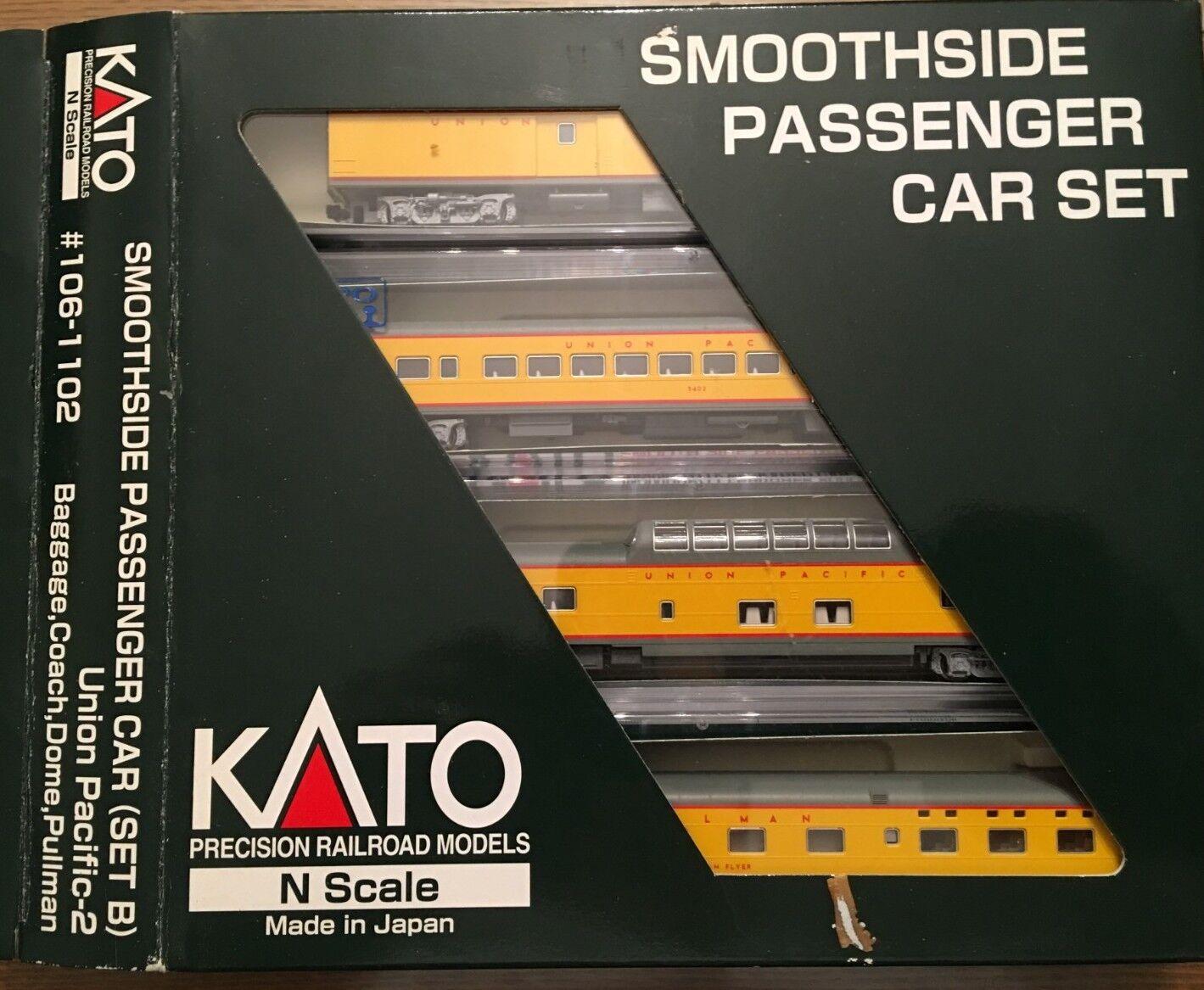 Kato  106-1102 snoothside Paso. Coche Set (B) Union Pacific - 2