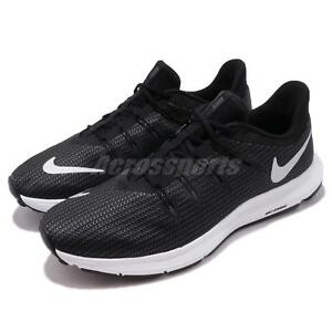 44d757208c2fd Nike Quest Black Silver White Men Running Training Shoes Sneakers ...