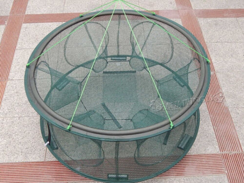 60X25cm Portable Foldable High Quality Fishing Trap Cast Net Crab Fish Minnow